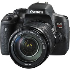 I can't wait to get my hands on this! Canon EOS Rebel T6i EF-S 18-135mm f/3.5-5.6 IS STM Kit