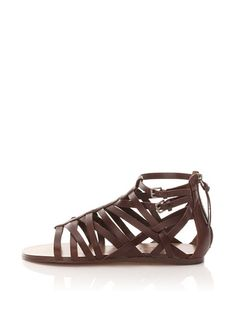 True Religion Serina Gladiator Sandal - I, for one, still love strappy flat sandals - they're classic and go with everything. These sandals are leather and have cute buckles, wear them and men will think that you are a gift from the gods.