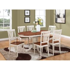 Found it at Wayfair - Kenley 7 Piece Dining Set