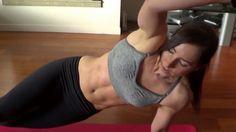 Christine Salus-ab workout