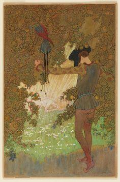 The Garden of Paradise, c. 1917, Elenore Plaisted Abbott