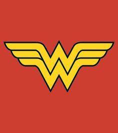 molde simbolo mulher maravilha - Pesquisa Google