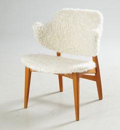 "Fåtölj ""Shell Chair"" | Stockholms Auktionsverk Magasin 5"
