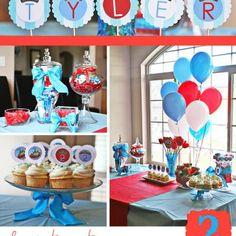 Chuggington Birthday Party {Boys Birthday Party Ideas}