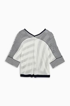 Buy Navy Stripe Kimono Sleeve Sweater from the Next UK online shop