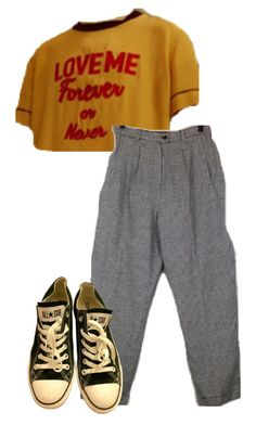"""""""Untitled #170"""" by tater-titties on Polyvore featuring Converse"""