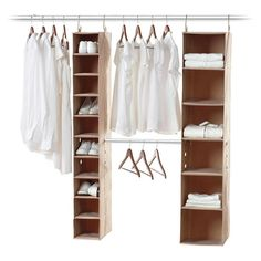 Bring harmony to your closet with this versatile organizer set, featuring 16 compartments for your storage needs. Effortlessly coordinate by hanging dresses ...