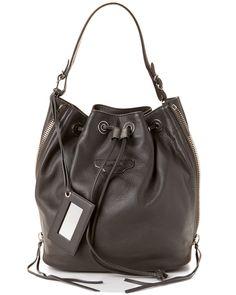 Spotted this Balenciaga Papier Plate Bucket S Leather Bag on Rue La La. Shop (quickly!).