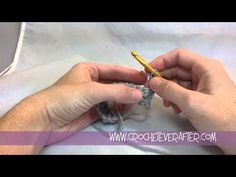 Double Crochet Tutorial DC into the First Stitch of the Row Crochet For Beginners, Double Crochet, The Row, Crocheting, Free Pattern, Stitch, Learning, Tips, Youtube