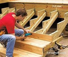 diy tip of the day stronger stair stringers this simple method