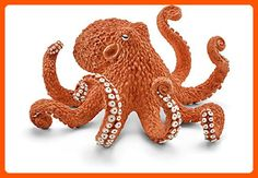 Schleich North America Octopus Toy Figure - Lovley creatures (*Amazon Partner-Link)