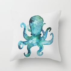 Earl Throw Pillow by Wobins - $20.00