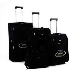 Touareg bőrönd szett Fekete 4 részes FA-1046 - AKCIÓS BŐRÖND - Etáska - minőségi táska webáruház hatalmas választékkal Fashion, Moda, Fashion Styles, Fashion Illustrations