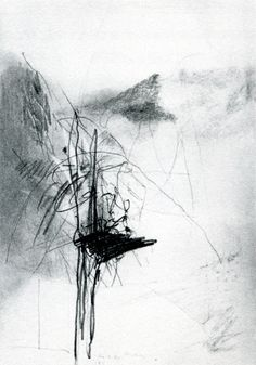 Gerhard Richter, Untitled, Graphite on paper  This is is simple and solid, yet so intricate and unstable. Gah i love this.