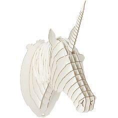 Pappeinhorn Kopf