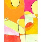 Found it at Joss & Main - Stained Glass Sun Canvas Print
