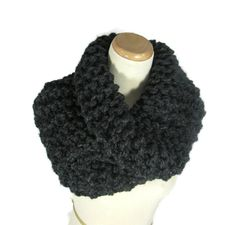 Outlander Inspired Cowl Chunky Cowl  Hand Knit by ArlenesBoutique