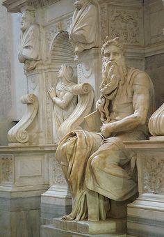 Roma. San Pietro in Vincoli. Mosè di Michelangelo