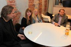 From the left: Michał Przymusiński (Crowley Media), Anna Kłuśkiewicz (iTVP), Aleksandra Chmielewska (iTVP) and Mariusz Stecki (iTVP)