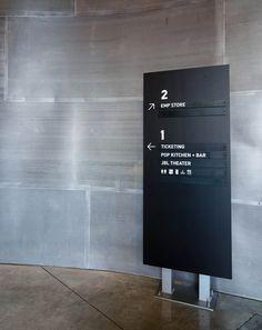 EMP Museum Wayfinding | Designer: Studio Matthews