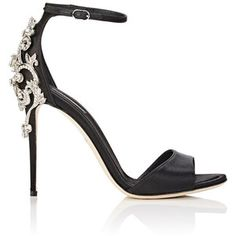 Dolce & Gabbana Women's Bejeweled Ankle-Strap Sandals