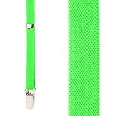 38e5f2664d9 1 2 Inch Wide Skinny Suspenders - NEON GREEN. Suspender StoreRed ...
