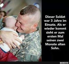soldier returns from a 3 year mission and finally meets his 2 months old baby from Items tagged as Soldier Meme Political Articles, Political Satire, Funny Memes, Hilarious, Jokes, Life Slogans, Ayyy Lmao, 2 Month Old Baby, Cool Pictures