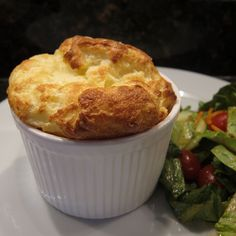 Souffle for One - Adapted from Mastering the Art of French Cooking by Julia Child