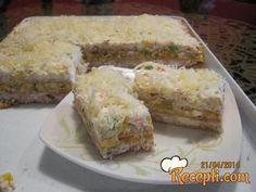 Clean Eating Recipes, Cooking Recipes, Kolaci I Torte, Croatian Recipes, Salty Snacks, Small Meals, Macaroons, I Foods, Cake Recipes