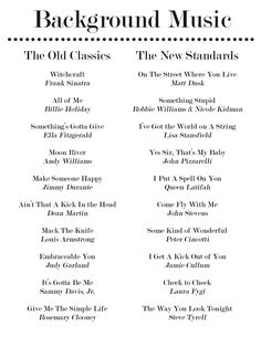 20 Jazz Standards for Your Dinner PartyPlaylist                                                                                                                                                                                 More