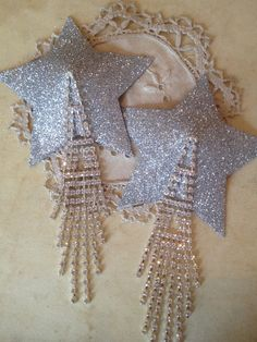 Shooting Star Nipple Tassels by Talulahblueburlesque on Etsy, £14.99
