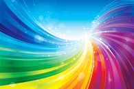 Let the colours flow free in your home. www.wallpaper24.co.uk