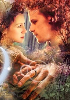 Fan art ~ Jamie and Claire I really like this one.