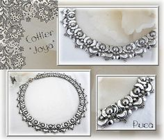 Schema necklace Joya with Arcos and Minos