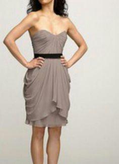 Bridesmaid dress...