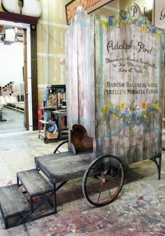 Image result for sweeney todd donkey cart