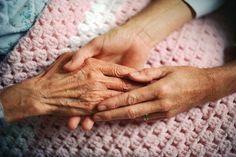 elderly hand