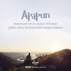 Credit : in pict by @ Reminder Quotes, Self Reminder, Words Quotes, Me Quotes, Motivational Quotes, Islamic Love Quotes, Islamic Inspirational Quotes, Muslim Quotes, Religious Quotes