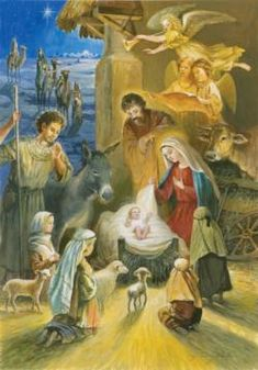 Holy Infant Christmas Jigsaw Puzzle
