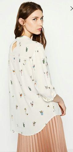 Cocktail blouse - ZARA