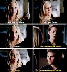 "S5 Ep14 ""No Exit"" - Caroline and Stefan"