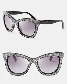 84cbdab715c5 Jimmy Choo Women's Flash Oversized Cat Eye Wayfarer Sunglasses Jewelry &  Accessories - Bloomingdale's