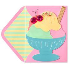 Ice Cream Sundae - Birthday Cards | PAPYRUS