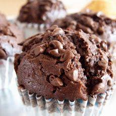 calorie triple chocolate chunk muffin recipe more chunk muffin muffins ...