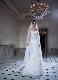 So, here we are today, with some wedding dresses that may look like the one from your dreams. Below you can see the Glamorous Bridal Collection by Tarik Ediz - White Wedding Dress Backs, 2015 Wedding Dresses, Perfect Wedding Dress, Bridal Dresses, Wedding Gowns, Wedding Bride, Wedding Cakes, Bridal Collection, Dress Collection