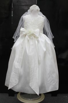 First Comunion Dress/Ivory Communion by ElenaCollectionUSA on Etsy, $95.00