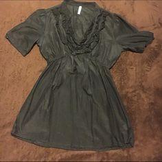 Lady's dress top Black dress top Xhilaration Tops Blouses