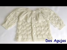 Knitting For Kids, Baby Knitting Patterns, Crochet Patterns, Crochet Baby, Cross Stitch, Youtube, Sweaters, Fashion, Crochet Baby Clothes