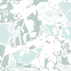 Arcadia bliss shine metallic from the Blithe fabric collection
