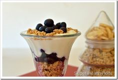 Check out this website for good granola ideas for both kids and adults! http://www.superhealthykids.com/14-ways-to-use-granola/